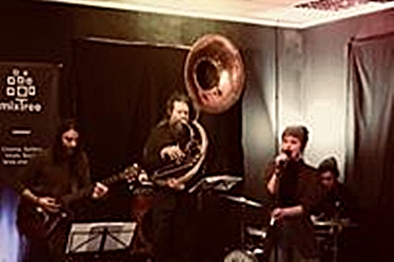12.10.2018: HALA Avantgarde Jazz/Rock Band (NL)